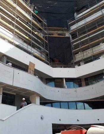 Construcion -Pladur tabice,trasado, techo,cinta y pintura
