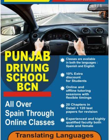 Punjabi Driving School Barcelona